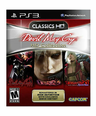 NEW Devil May Cry HD Collection 1 2 3  Dante's Awakening PS3