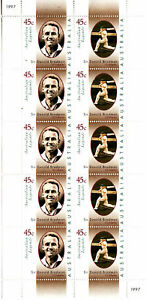 1997-Australian-Legend-Sir-Don-Bradman-MUH-Sheetlet