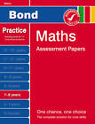 Bond Maths Assessment Papers 7-8 Years: 7-8 years by Andrew Baines, J. M. Bond (Paperback, 2011)