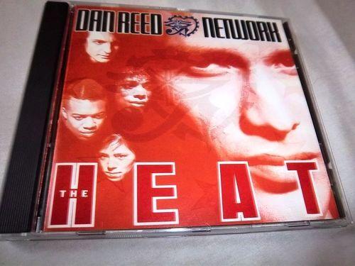 Heat by Dan Reed MINT SILVER CENTER CD, Jul-1991, Mercury)