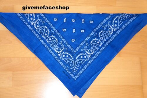 Paisley Bandanas hiphop neck cotton 23 different colours and prints scarf