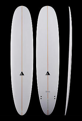 LT 9'1 Classic Longboard with Clear Gloss Finish - ex Sydney Warehouse