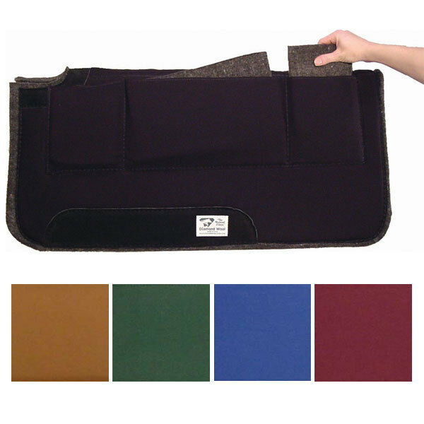 Diamond Wool Pressure Relief Saddle Pad Western Saddle Pad 32
