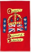HM-QUEEN-ELIZABETH-II-DIAMOND-JUBILEE-2012-SOUVENIR-TEA-TOWEL-BRAND-NEW