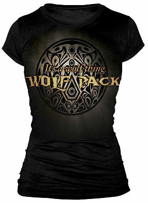TWILIGHT - Wolf Pack Logo 'It's A Wolf Thing' T-Shirt (S/M/L/XL) #NEW