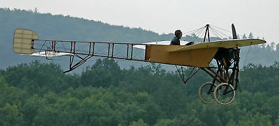 Giant 1/3 Scale French Bleriot XI Monoplane Plans and Templates