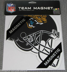 NFL-NIB-8-INCH-TEAM-AUTO-HOME-MAGNET-JACKSONVILLE-JAGUARS