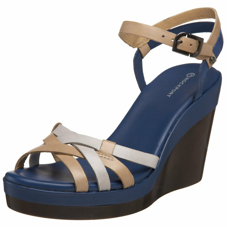 Rockport Monica Strap shoes Femme 41 Sandales Espadrilles Lanières Neuf UK7