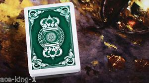 1-BLACK-CROWN-12-decks-GREEN-CROWN-PLAYING-CARDS-by-bicycle-USPCC