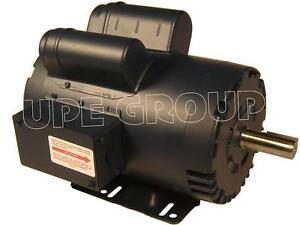 Leeson Heavy Duty 5 Hp 20 8a Electric Motor For Compressor