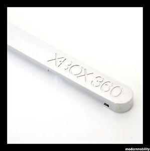 NEW-OEM-MICROSOFT-XBOX-360-CD-DVD-DRIVE-TRAY-BEZEL-SILVER-TRAY-FRONT-X800354
