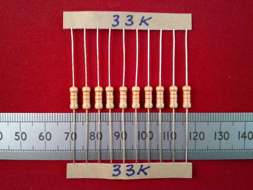 50 piezas 0.5W 5/% De Carbono resistencias de película 10K cincuenta resistencias de 0.5 vatios 820K Ohm