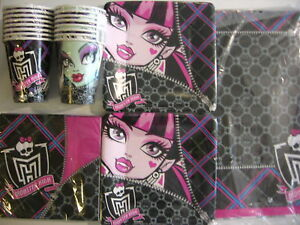 MONSTER-HIGH-Birthday-Party-Supply-Supply-Kit-Set-16