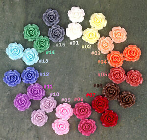 Colorful-Resin-Rose-Flowers-Cabochons-15-colours-20mm-Cameo-Flat-Back-p227-PICK