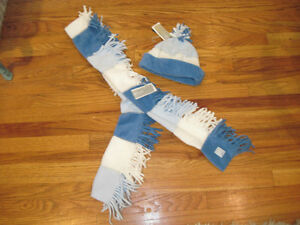 NWT-Cute-Small-Gap-Kids-Girl-039-s-Blue-Fleece-Hat-and-Scarf-Set-NWT-Girl-039-s-Small