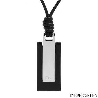 DYRBERG/KERN Brand New Necklace with Onyx Made of StSl