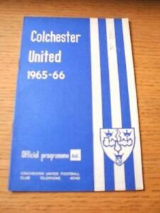 11121965 Colchester United v Chesterfield  Slight Cr - <span itemprop=availableAtOrFrom>Birmingham, United Kingdom</span> - Returns accepted within 30 days after the item is delivered, if goods not as described. Buyer assumes responibilty for return proof of postage and costs. Most purchases from business s - Birmingham, United Kingdom