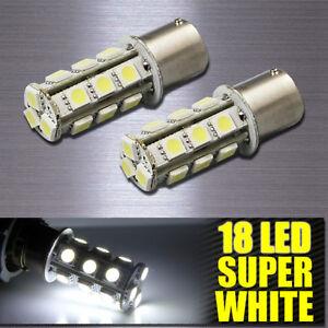 4X-1156-BA15S-18-LED-SMD-6000K-Xenon-White-RV-Camper-Trailer-Interior