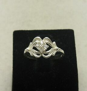 STYLISH-STERLING-SILVER-RING-SOLID-925-CZ-SIZE-3-5-10