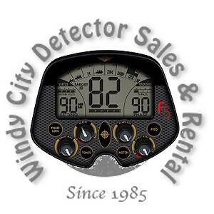 Fisher-F5-Visual-Audio-Target-ID-Metal-Detector