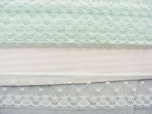 Flat Lace Mint - 20 metres (163a)