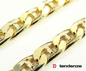 STEG-carri armati bracciale oro doublé 7mm15-27cm uomo bracciale-  mostra il titolo originale - Italia - STEG-carri armati bracciale oro doublé 7mm15-27cm uomo bracciale-  mostra il titolo originale - Italia