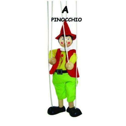 Pinocchio--STRING/MARIONETTE PUPPET-(PINOCCHIO THEME)