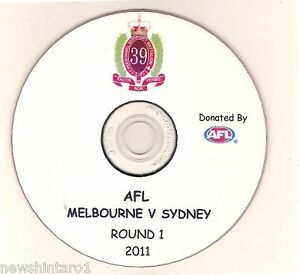 AUSTRALIAN-ARMY-DVD-AFL-ROUND-1-2011-DEMONS-amp-SWANS