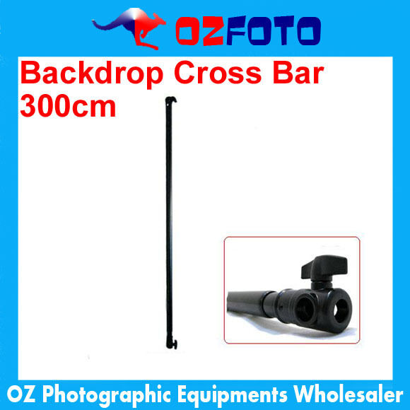Premium Photo Studio Background Backdrop Support Cross Bar 3m NEW