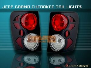 1999 2003 jeep grand cherokee tail lights 2000 2001 02 ebay. Black Bedroom Furniture Sets. Home Design Ideas