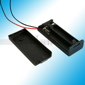 10-Pcs-New-2-AAA-3A-Battery-3V-Holder-Box-Case-with-ON-OFF-Switch-Black
