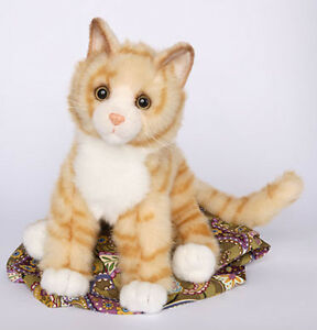 PEACHES-Douglas-Cuddle-plush-11-034-long-ORANGE-TIGER-stuffed-CAT-kitty-animal-NWT