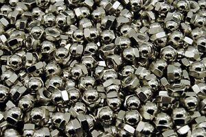 25-Nickel-Chrome-Plated-5-16-18-Acorn-Hex-Cap-Nuts