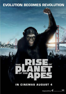 Rise-of-Planet-of-the-Apes-A3-Film-Poster-FREE-UK-P-amp-P