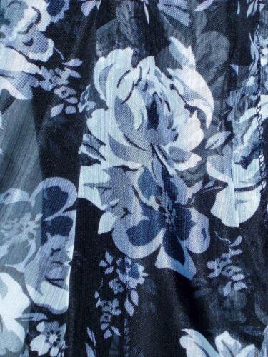 Damen Tuch Schal schwarz weiß Blumen oder Rosen 154x42 NEU