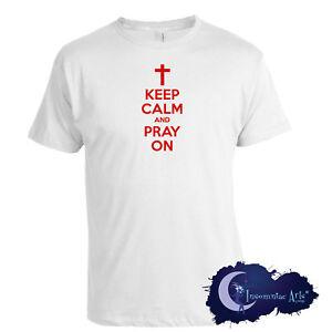 Keep-Calm-and-Pray-On-Christian-Faith-Adult-T-Shirt
