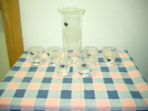 Beautiful-Javit-Crystal-Made-America-Cocktail-Set-Poure