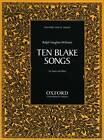 Ten Blake Songs by Oxford University Press (Sheet music, 2004)