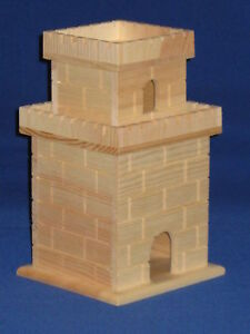 Unfinished-Wood-Birdhouse-Princess-Castle-Royalty-Birds-Only