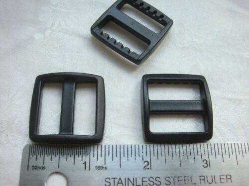 100 -1'' (25mm) Wide Mouth Triglides Webbing Slides-Heavy duty