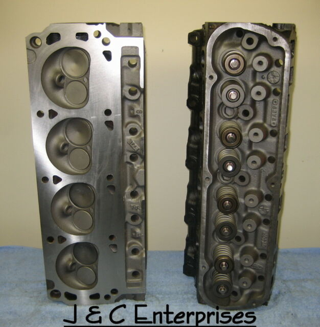 REBUILT 302 SMALL BLOCK FORD CYLINDER HEADS GT40P 4 BAR NO CORE REQUIRED
