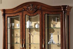 Wohnzimmer Esszimmer Exklusive Vitrine Luxus Stilmöbel Design Italien ...