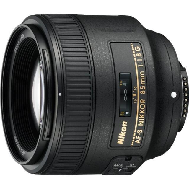 Nikon AF-S Nikkor 85mm F1.8G Lens