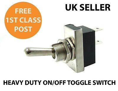 ON / OFF Heavy Duty 25A Toggle Switch (High quality)