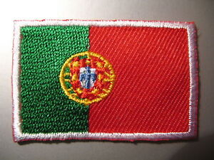 Portuguese-Flag-Small-Iron-On-Sew-On-Patch-Badge-PORTUGAL-bandeira-portuguesa
