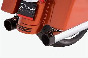 RINEHART-EXHAUST-4-034-SLIP-ON-MUFFLERS-1995-2012-HARLEY-TOURING-2011-2010-2009