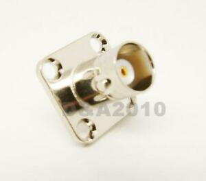 BNC-female-jack-with-4-holes-flange-solder-connector-adapter