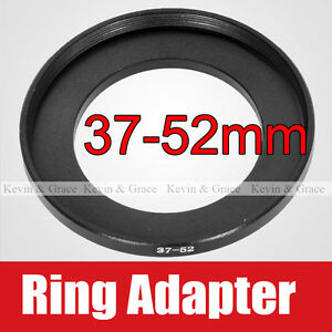 37mm-to-52mm-Male-Female-Lens-Step-Up-Ring-Adapter-37-52-Lens-Hood-Cap-Filters