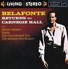 Belafonte Returns to Carnegie Hall by Harry Belafonte (CD, Feb-2008, RCA Victor)