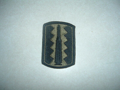 PATCH MILITARY 197TH INFANTRY BRIGADE SUBDUED BRAND NEW OLD STOCK